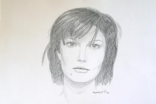 Chiara Mastroianni par Rochelle